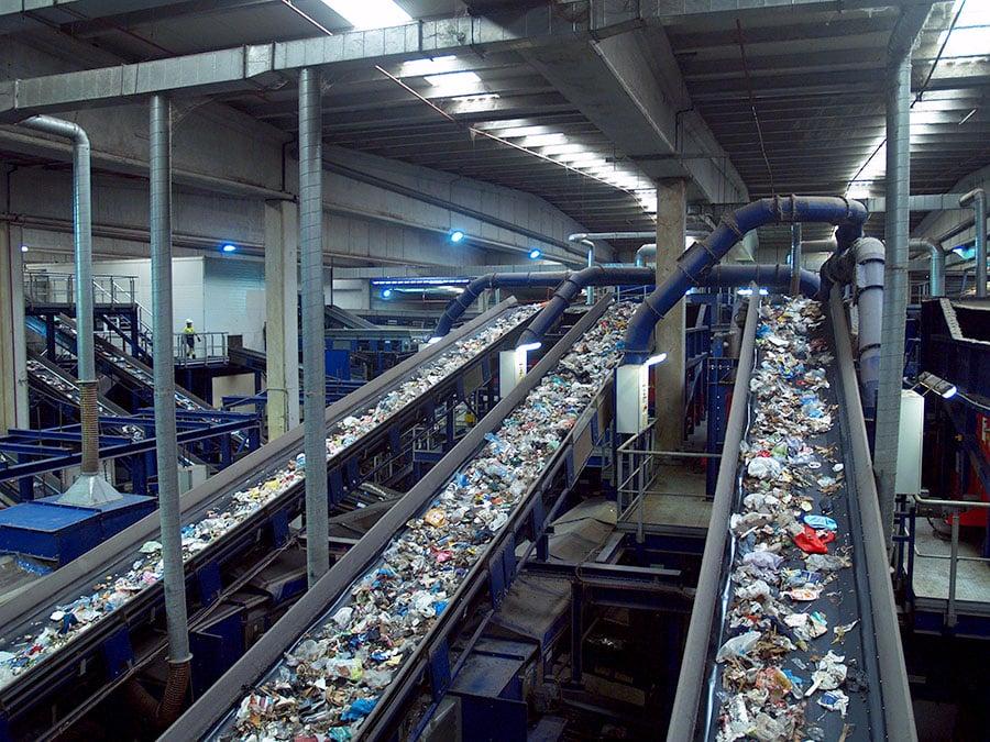 Empresa gestora de residuos